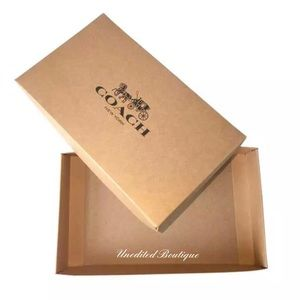 COACH SMALL GIFT BOX FREE WITH PURCHASE